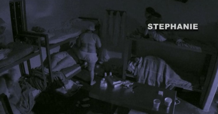 Stephanie Watching them have sex on 60 Days In