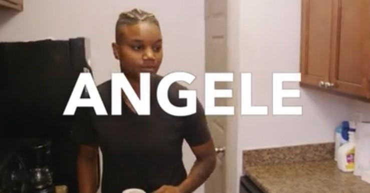 Angele openly lesbian